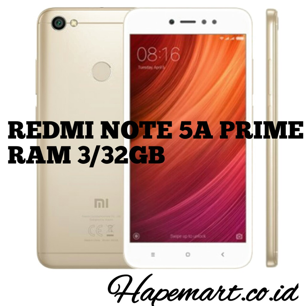 Xiaomi Redmi Note 5a Prime Tam Grey Shopee Indonesia Segel