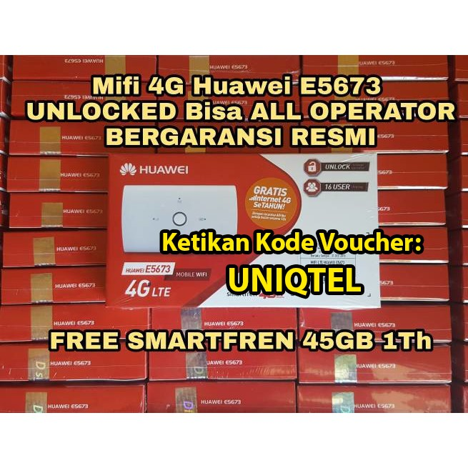 MIFI HUAWEI E5673 UNLOCK + TELKOMSEL 14GB REGULER 24 JAM WIFI ROUTER UNLOCK ALL OPERATOR INDONESIA | Shopee Indonesia