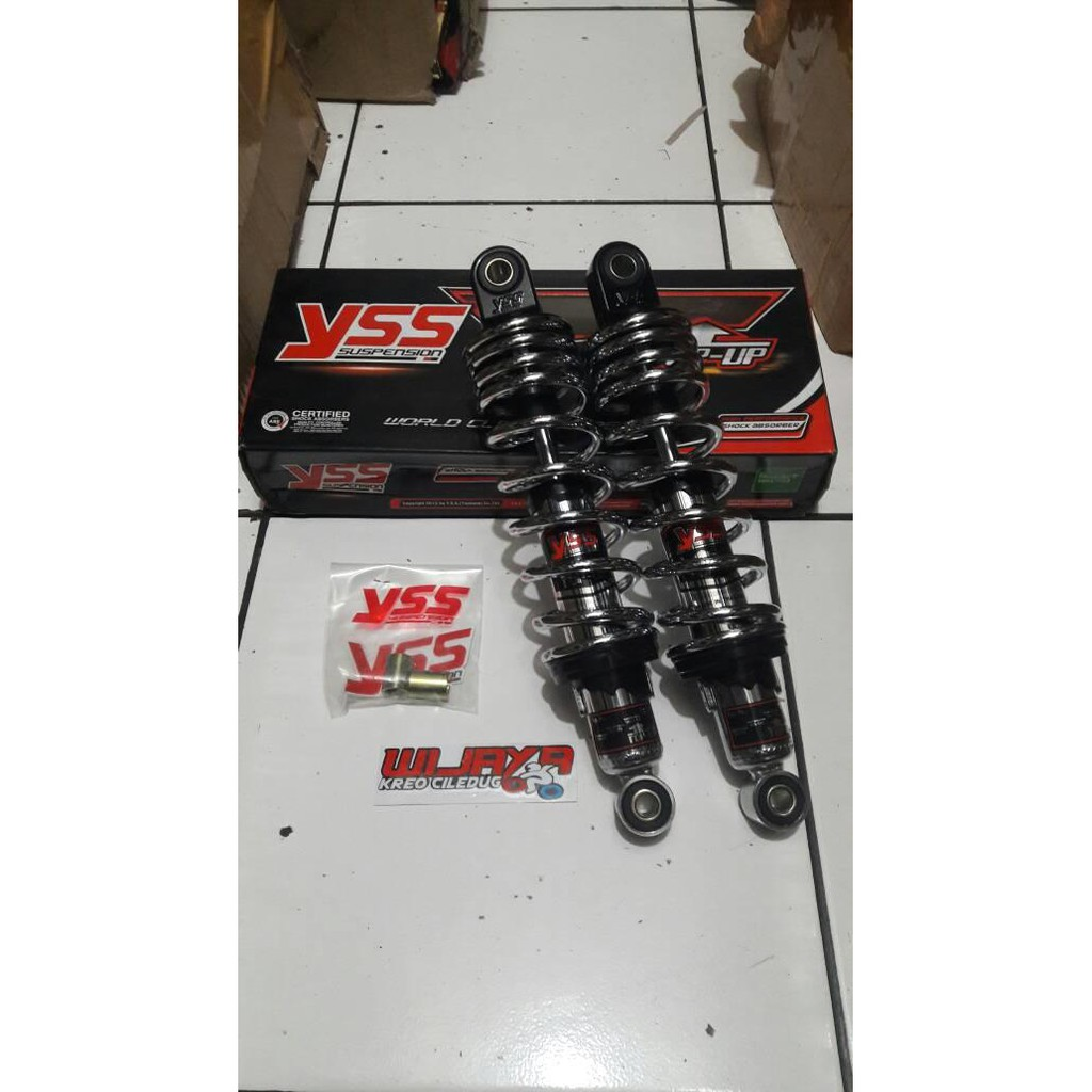Shock Fastbike Bebek Supra Karisma Revo Blade Wave 340mm Shopee Shokbeker Kayaba Zeto 125 Kharisma Shogun125 Smash Arashi 340 Indonesia