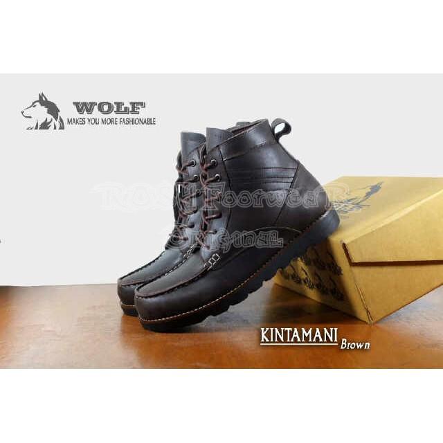 Sepatu Wolf Brodo Kulit Asli Pull Up Wolf Ventura Hitam - Daftar ... 7a6053f7bc