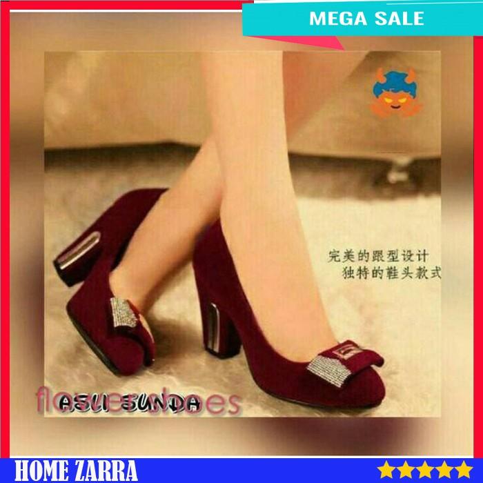 Sepatu High Heels Wanita Sepatu Hak Tinggi Cewek Sepatu Cantik