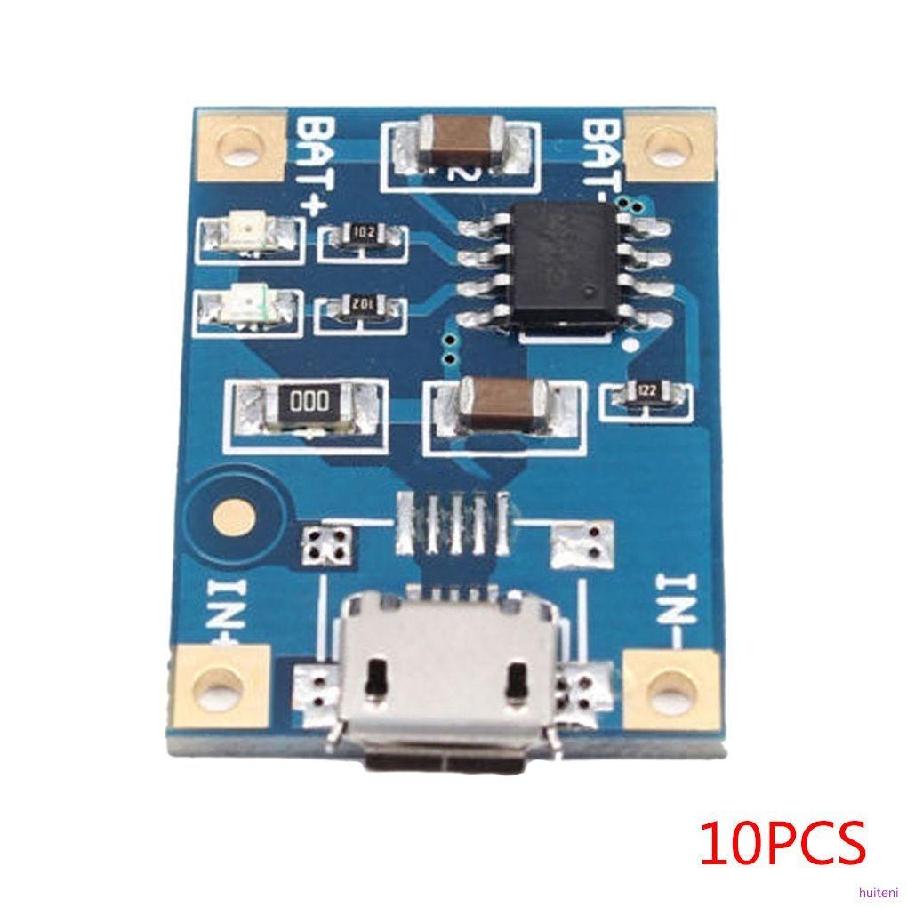 10pcs / 5pcs / 2pcs Tp4056 1a Papan Modul Charger Baterai Lithium Mini Interface Usb Huiteni