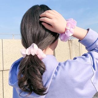 Ikat Rambut Bunga Daisy Gaya INS Korea Segar Kecil Tali Rambut Elastis Untuk Wanita 5