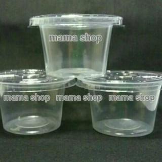 Wx232 Cup Puding 60 Ml Es Cream Eskrim Jelly Agar Agar Gelas Plastik Kecil Merk Sp Bahan Pp