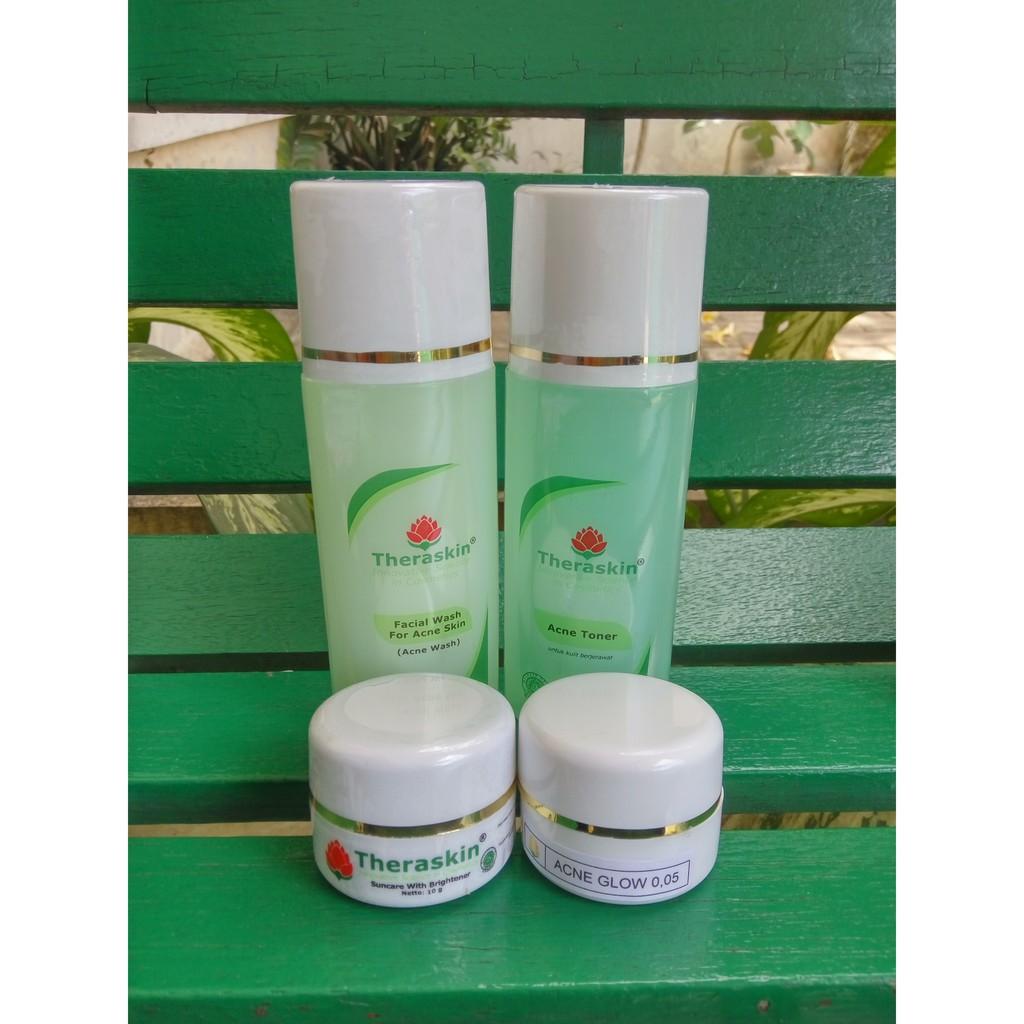 Theraskin Original Paket Acne Harga Pabrik Shopee Indonesia Oily