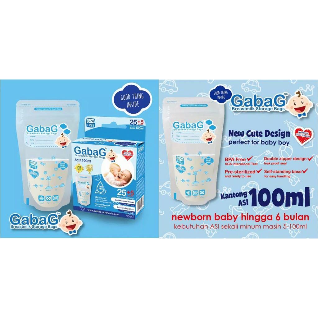 Bagbit Breastmilk Storage Bags 120ml Shopee Indonesia Gabag Kantong Asi Milk 30pc