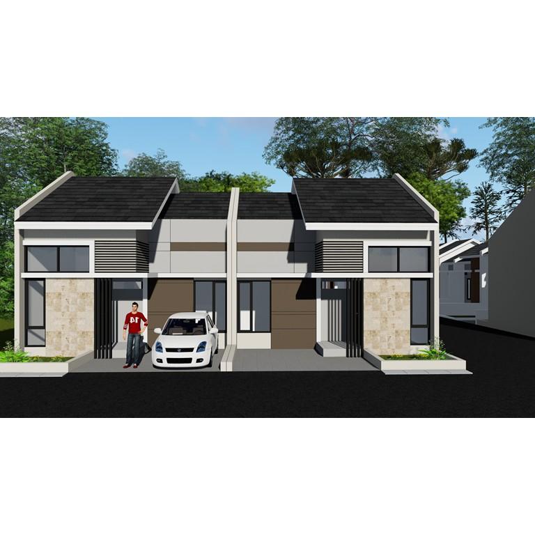 Desain Rumah Minimalis 1 Lantai Type 45 (Lahan 6,5 X 12) | Shopee Indonesia