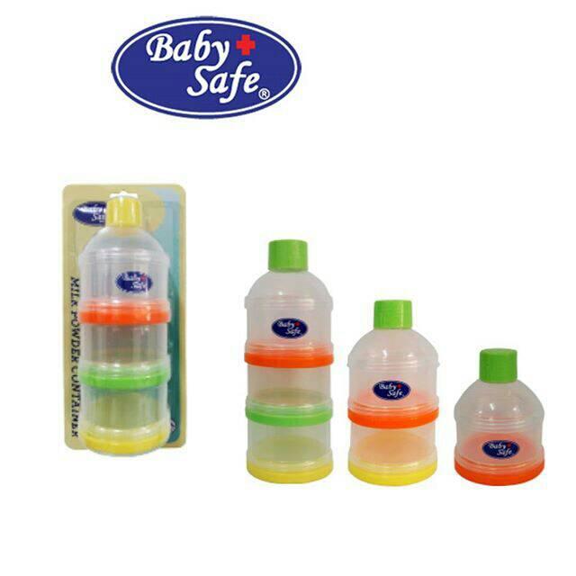 Baby Safe Stack Milk Container Tempat Susu Bubuk susun 3 / BS33A | Shopee Indonesia