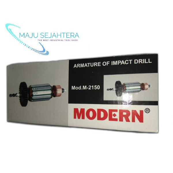 MODERN SPAREPART armature mesin bor 13mm m2150. armature bor 2150. Angker mesin bor |