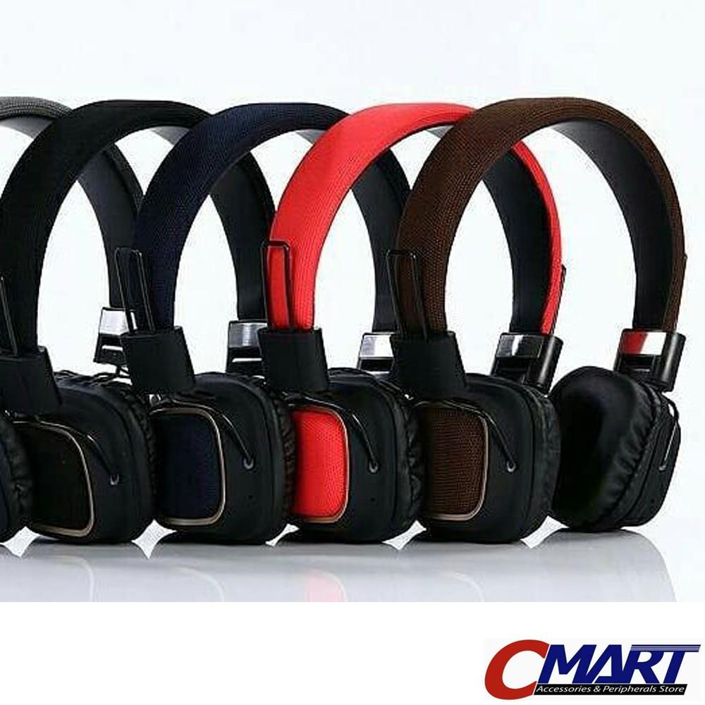 Rexus Headset Headphone Bluetooth Wireless M1 With Micro Sd Slot Ekstra Bass Stereo Shopee Indonesia