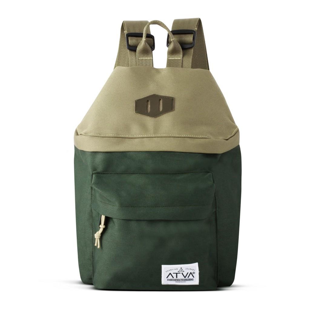 tas cewek ransel – ransel wanita – Atva New Finch Series Khaki Olive