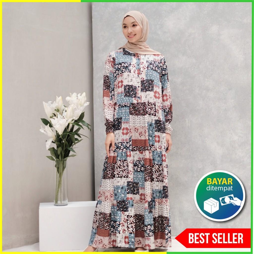Gamis Dewasa Homey Dress Kalila Bahan Katun Rayon Premium Adem Nyaman Dipakai Bisa Cod Shopee Indonesia