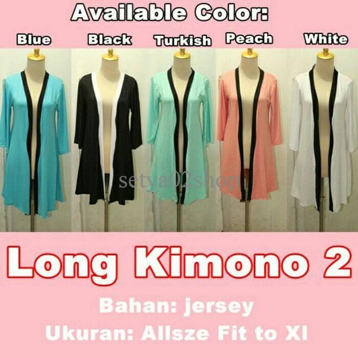 xl jumbo bigsize cardigan kimono korea cardy outer cardi wanita long ... 8566ef3aac