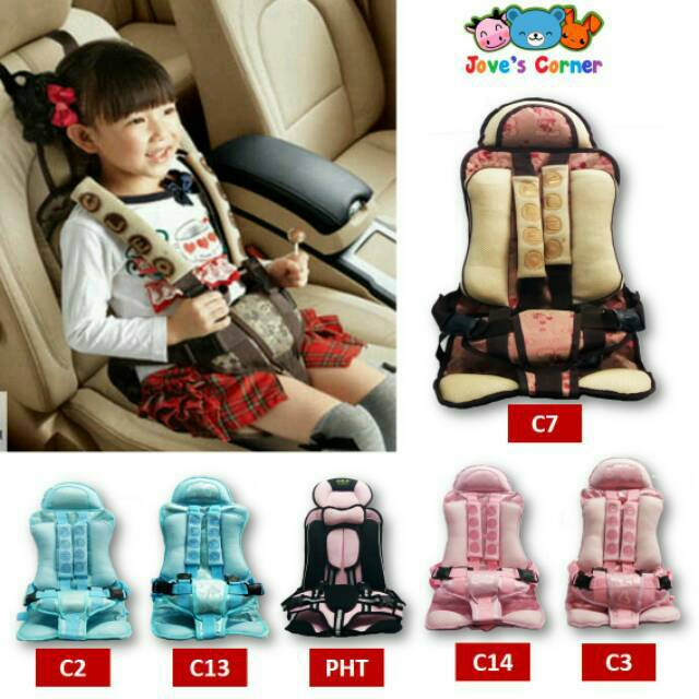 Car Seat Portable Bayi MURAH | Seat Belt Mobil Anak ...