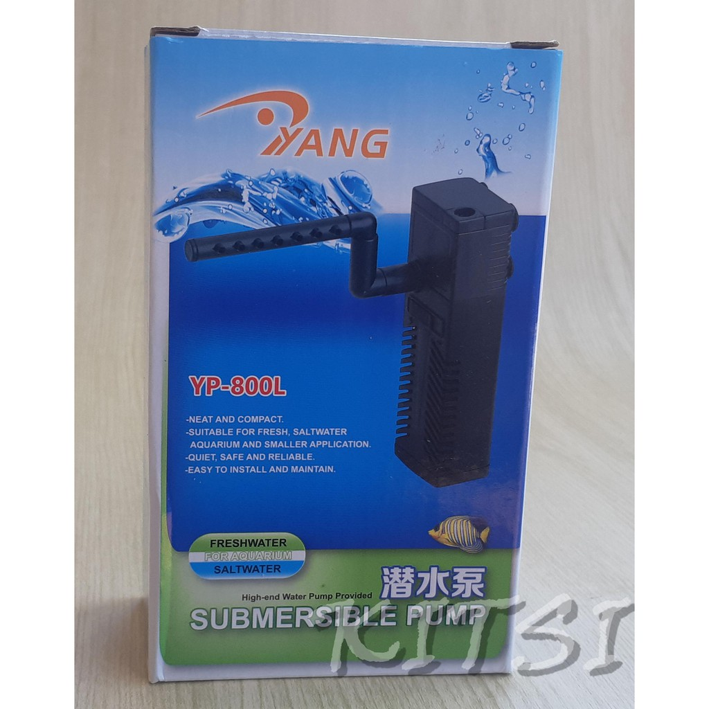 Mini Internal Filter Yang Yp 800 L Aquarium Aquascape Shopee Indonesia