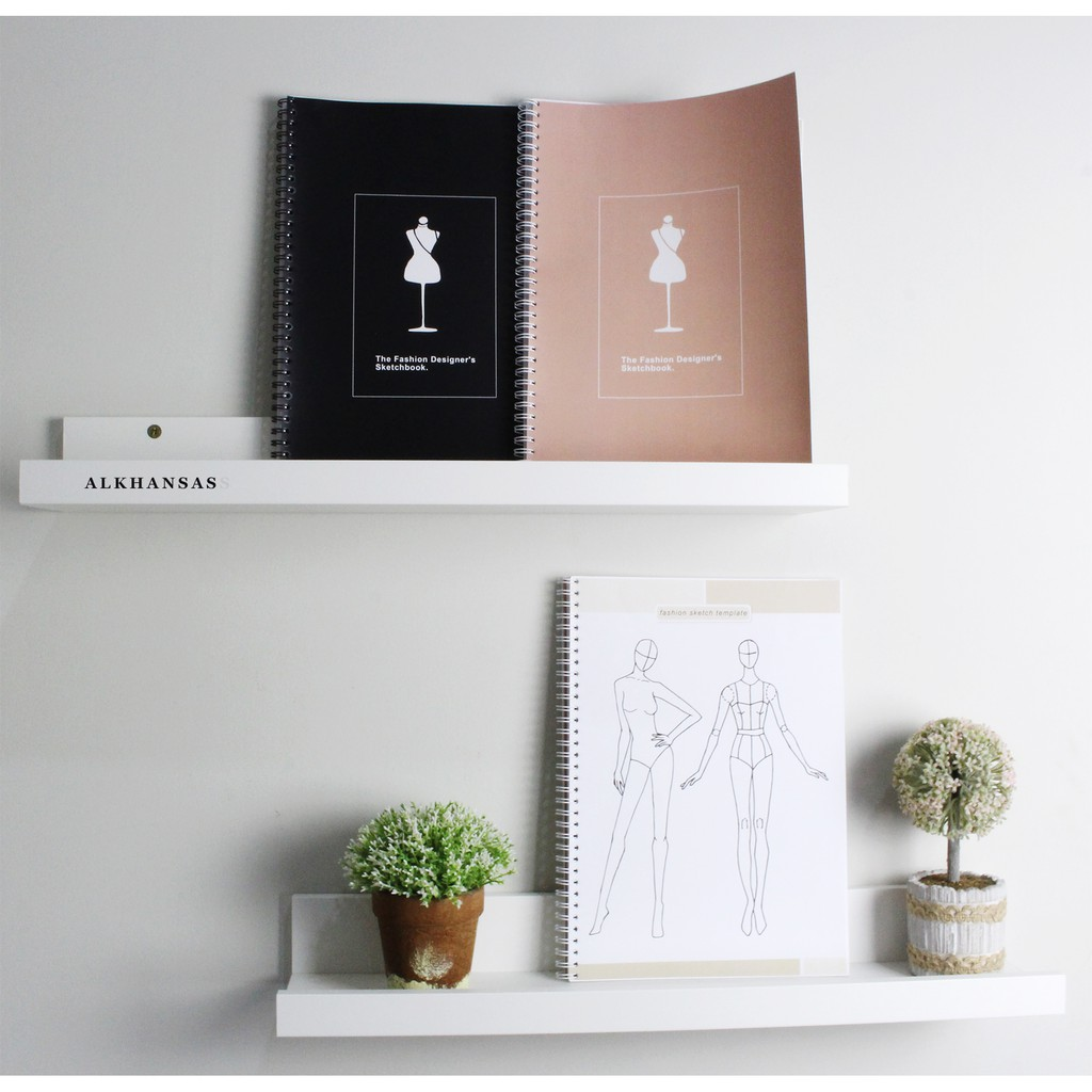 Buku Gambar Sketsa Fashion Designer