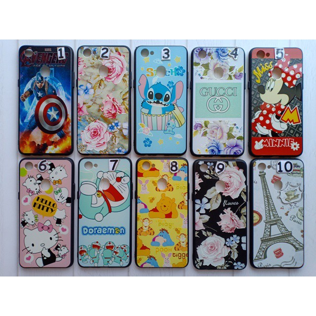 Case Uv Oppo F7 Casing Oppo F7 Case Cover Gambar Karakter Shopee Indonesia