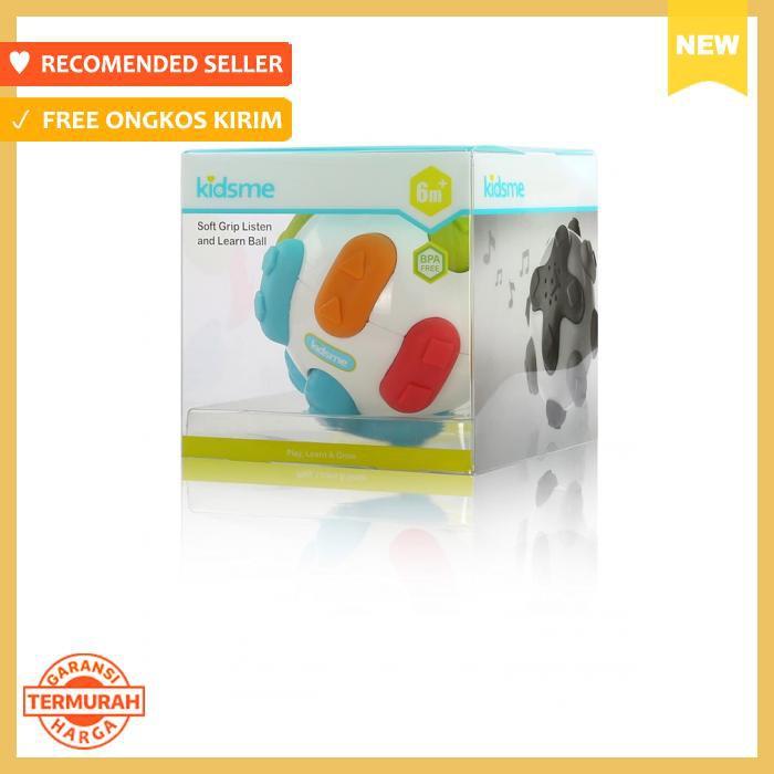 Terlaris KIDSME Soft Grip Listen and Learn Ball / Mainan Bayi !