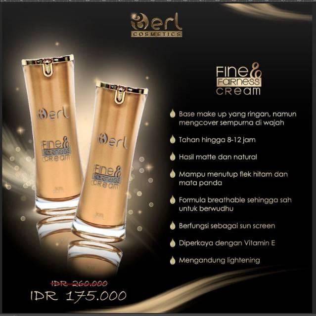 Original Base Make Up B Erl Cosmetic Fine Fairness Cream