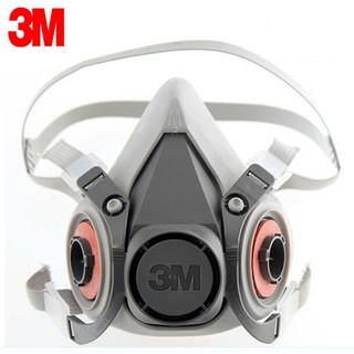 Facepiece Masker Respirator 6100 Small Half Reusable Prk-b450 3m
