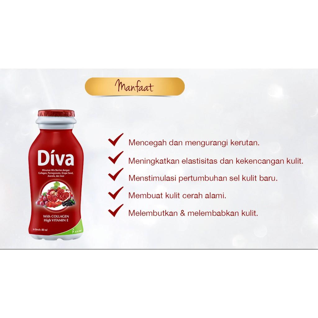Diva Shopee Indonesia Collagen Elastin 16x80ml