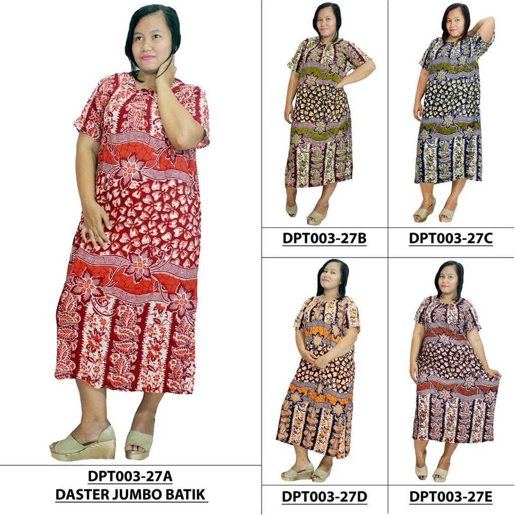 Longdress Daster Kartika Batik Lengan Pendek Chanel Adidas Gucci Lv Panjang Shopee Indonesia