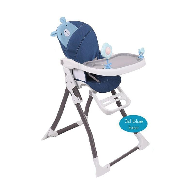 Kursi Makan Bayi Baby Chair High Chair BabyDoes CH-042JB Ultimo Blue Bear