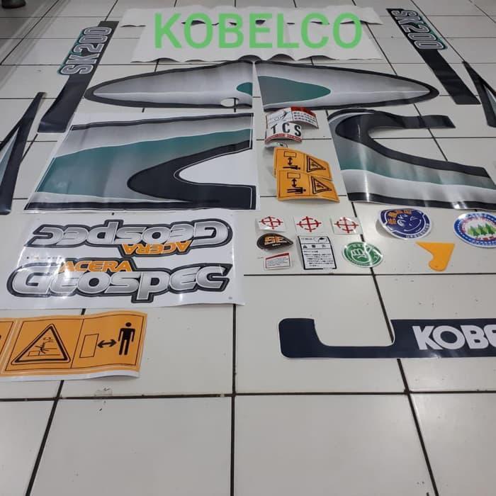 Em | Sticker Kobelco Sk 200-8, Sk200-7