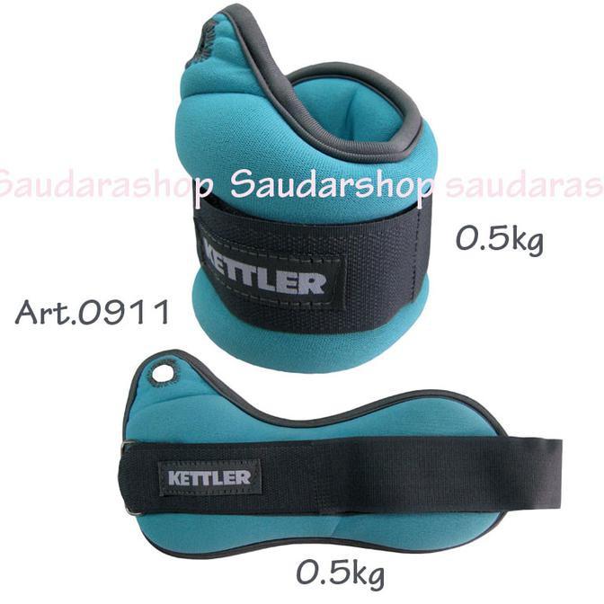 Kettler Wrist band Orange (2kg/pair) / Pemberat tangan 2kg kettler | Shopee