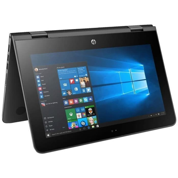 Laptop Hp X360 Intel Ram 4gb Hdd 500gb 11 6 Windows10 Touchscreen Convertible Shopee Indonesia
