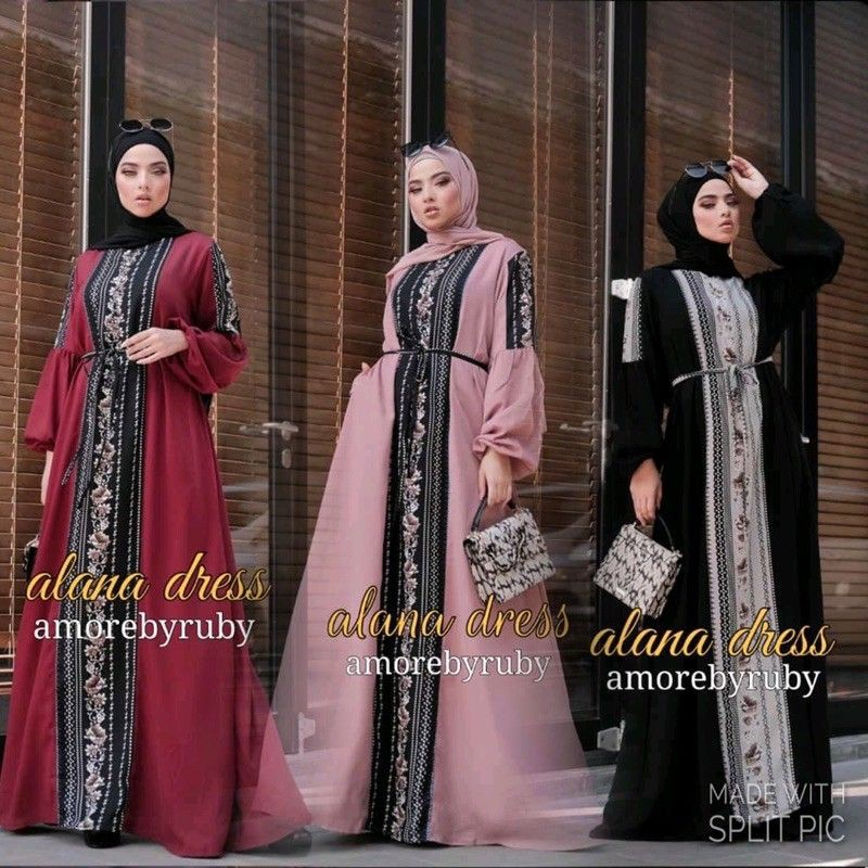 alana ORIGINAL amore by ruby ORIGINAL AMORE BY RUBY bahan WOLLYCREPE