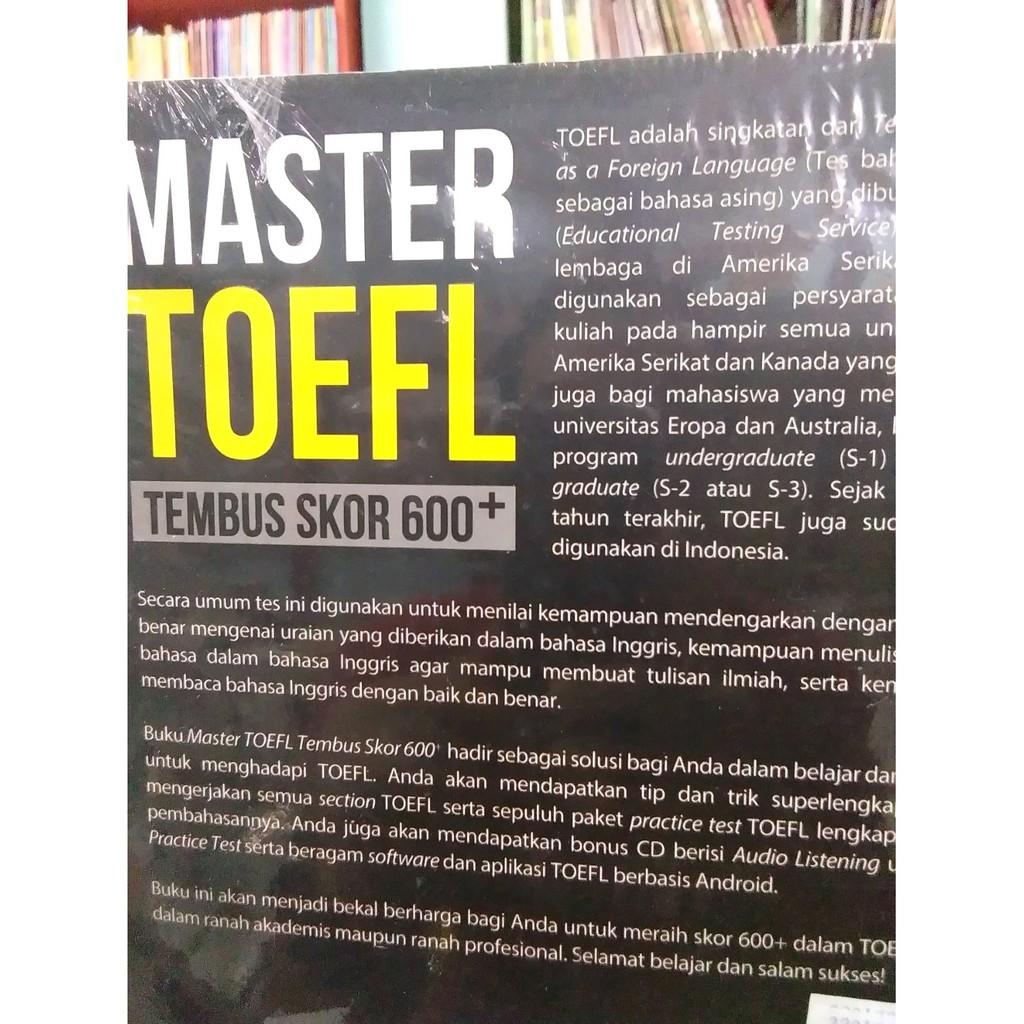 Master Toefl Tembus Skor 600 Shopee Indonesia Paket 3 E Book Ielts Toeic Rekomendasi Easy English
