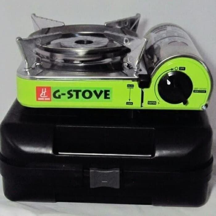 Peralatan Masak Compor Gas Mini Portable Camping Tabung Gas Mini G Stove Murah Meriah Silver Shopee Indonesia
