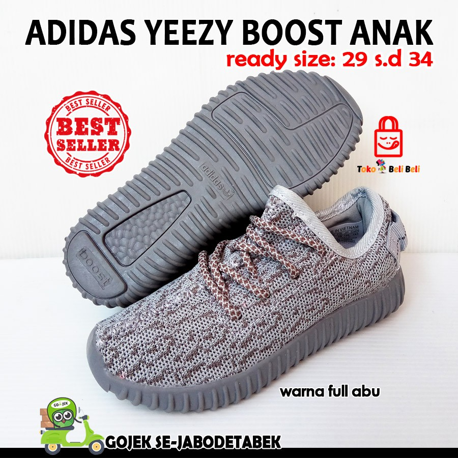 adidas yeezy boost 350 pirates black import - full hitam  4608089b82