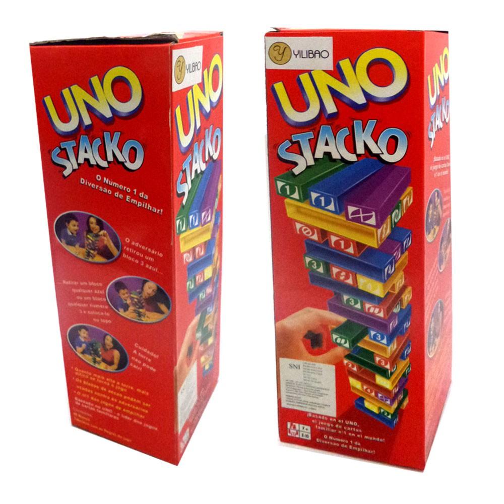 Mk Uno Stacko Shopee Indonesia Paket Kartu Game