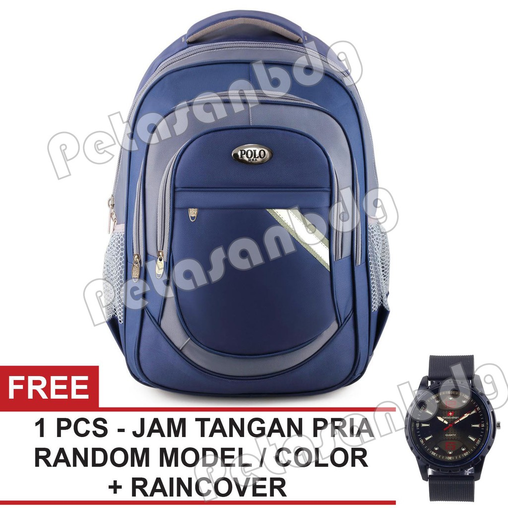 1486cb8459 Real Polo Tas Ransel Kasual FCGA Backpack Daypack