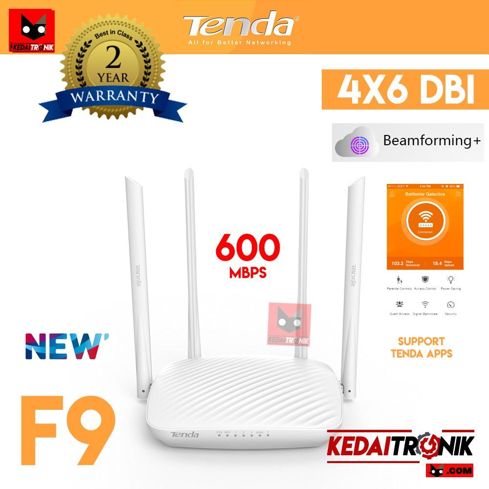 New Range Extender Wifi Repeater Tenda A9 2antena A301 Shopee A6 N150 Mini Ap Router Putih Indonesia