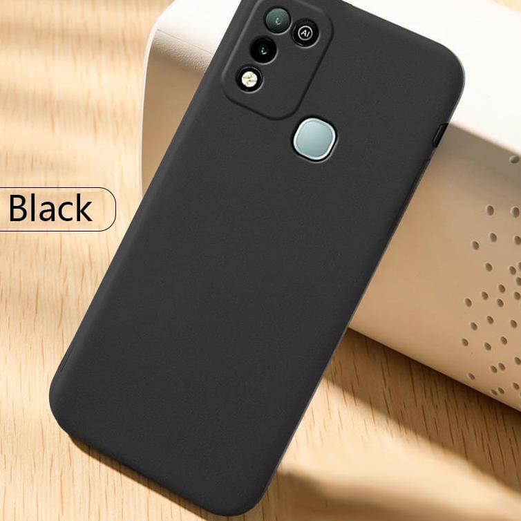 Diskon BSAR Case Infinix Hot 10 Play / Infinix hot 10s (2021) Softcase Sandstone Premium Case TPU Si