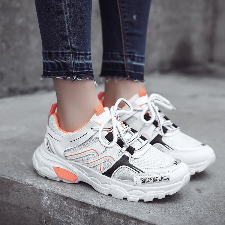 Sepatu Sneakers Wanita Terbaru Sepatu Olahraga Perempuan Import