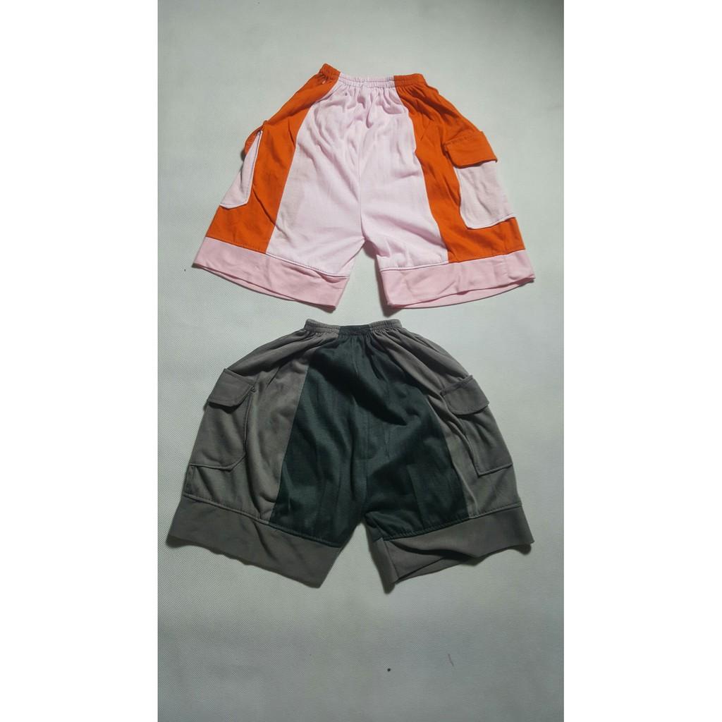 Paket 4 Pcs Celana Pendek Outdoor Sporty Bahan Adem Dan Lembut Pria Buat Nongkrong Gahul Warna Shopee Indonesia