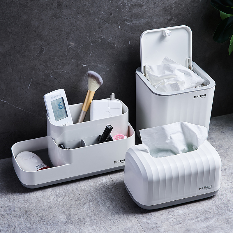 Tissue Box Modern Minimalist Home Living Room Coffee Table Drawer Box Creative Bedroom Office Desktop Storage Box Shopee Indonesia