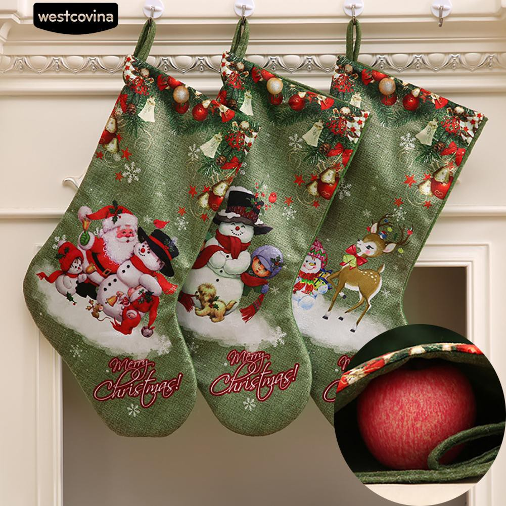 ❄⛄✨Xmas Hiasan Dinding Hiasan natal Snowman Santa Claus Bendera Spanduk  Dekorasi  7ab951e8a7