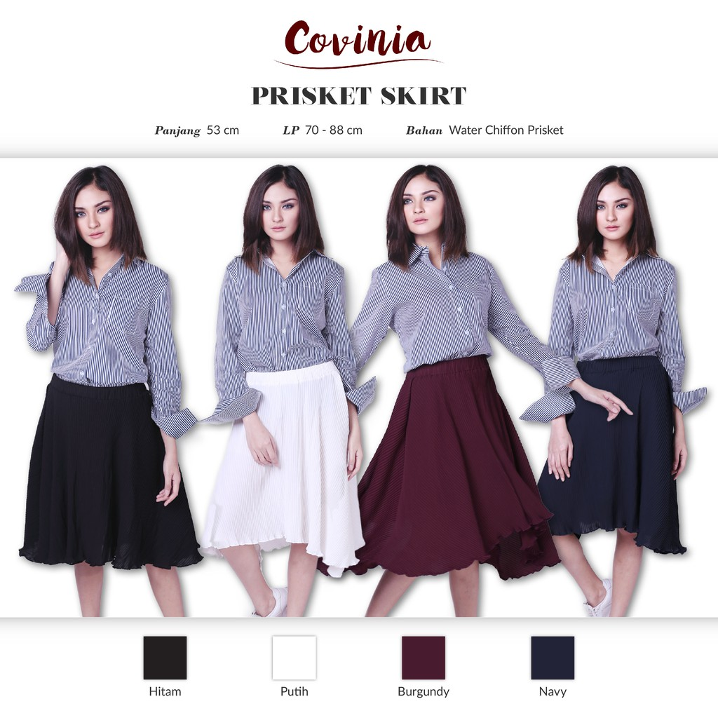 Crg171035 Prisket Skirt Rok Flare Long Back To Office Basic Pencil Rk105 Crg162067 Origami Span 2 Layer Asimetris Polos Shopee Indonesia