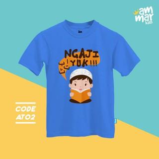 Kaos Anak Ammar Kids Baju Anak Islam Muslim At 02