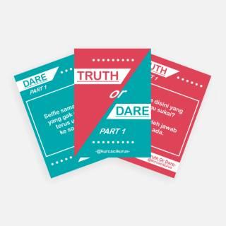 Part 1 Kartu Truth Or Dare Truth Or Dare Card Kurcacikurus