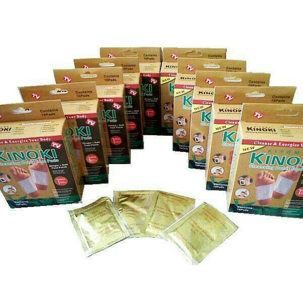 Kinoki Gold Koyo Penyerap Racun Tubuh Harga Perbox Kinerbox Shopee Detox Foot Patch Original Bamboo Indonesia