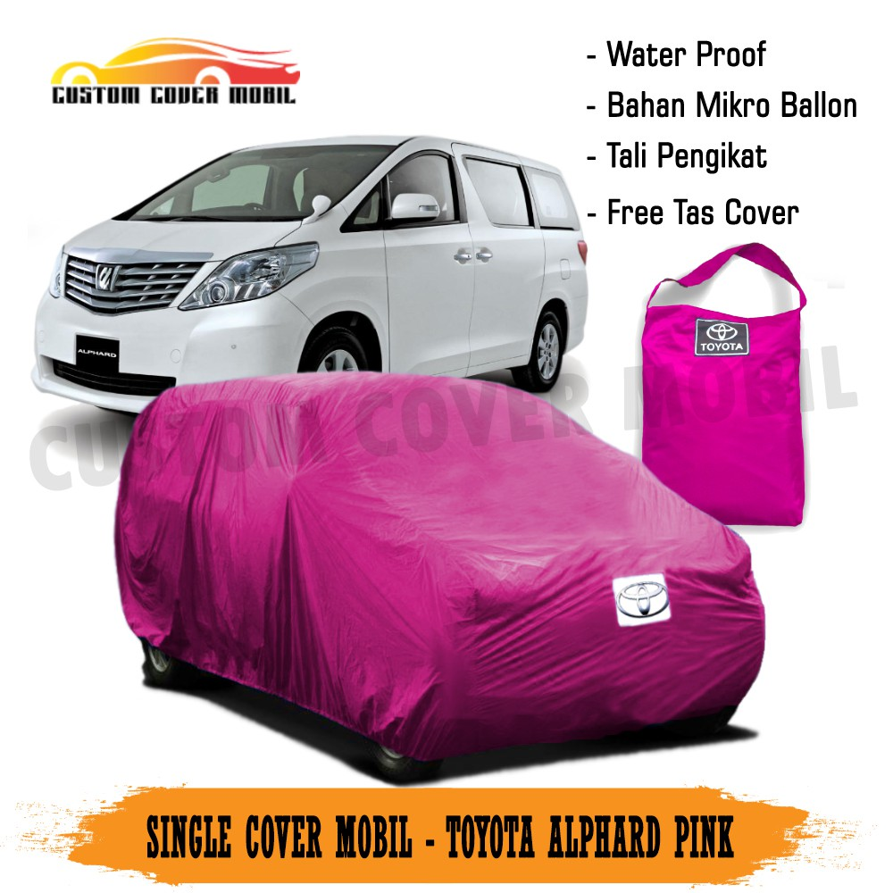 Cover Selimut Mobil Large Mpv Toyota Alphard Indoor Shopee Indonesia