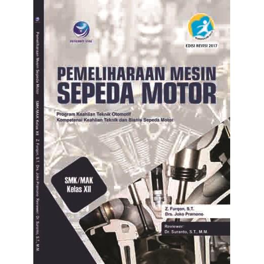 Buku Pemeliharaan Mesin Sepeda Motor Smk Mak Kelas Xii Shopee Indonesia