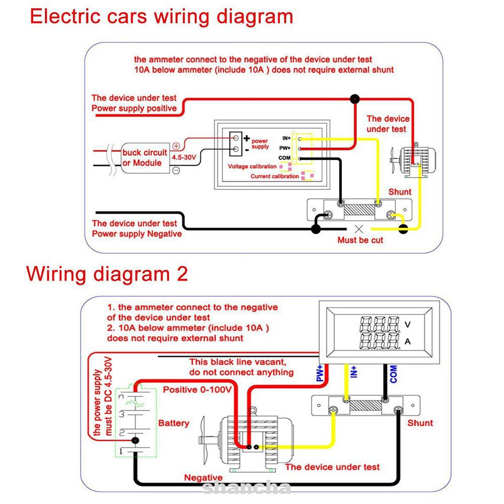 Voltmeter Digital Dual Display DC 100V 10A on voltmeter parts diagram, voltmeter block diagram, digital multimeter circuit diagram, voltmeter circuit diagram, simple led circuit diagram, voltmeter switch diagram,