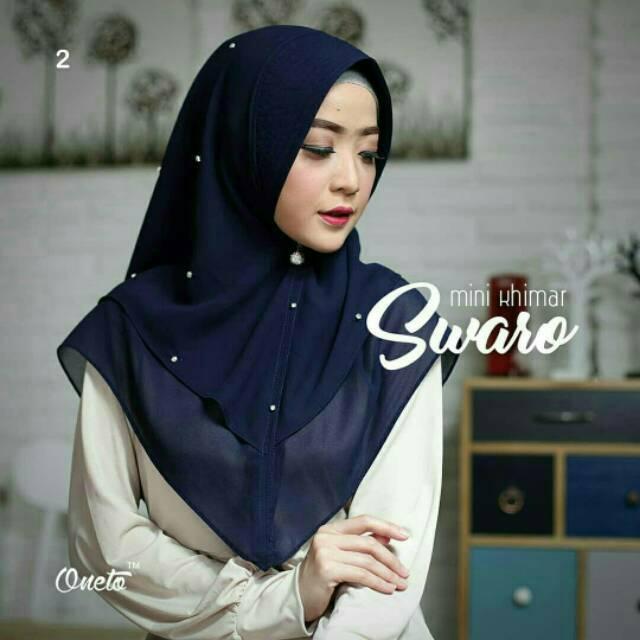 Hijab Mini Khimar Swaro / Jilbab Instan murah / Kerudung Syari / Pashmina instan / Fashion Muslim | Shopee Indonesia